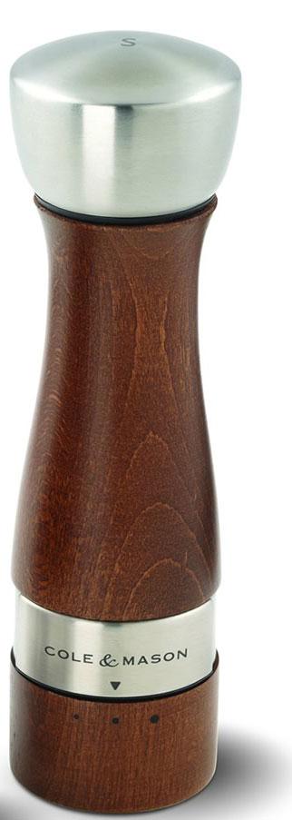 Мельница для соли Cole & Mason Oldbury, высота 19 смH301822GМельница для соли Cole & Mason Oldbury, изготовленная высококачественного дерева, легка в использовании. Стоит только покрутить верхнюю часть мельницы, и вы с легкостью сможете посолить по своему вкусу любое блюдо. Механизм мельницы изготовлен из высококачественной стали. Изделие имеет 3 степени помола. Оригинальная мельница модного дизайна будет отлично смотреться на вашей кухне. Мельница уже содержит соль.
