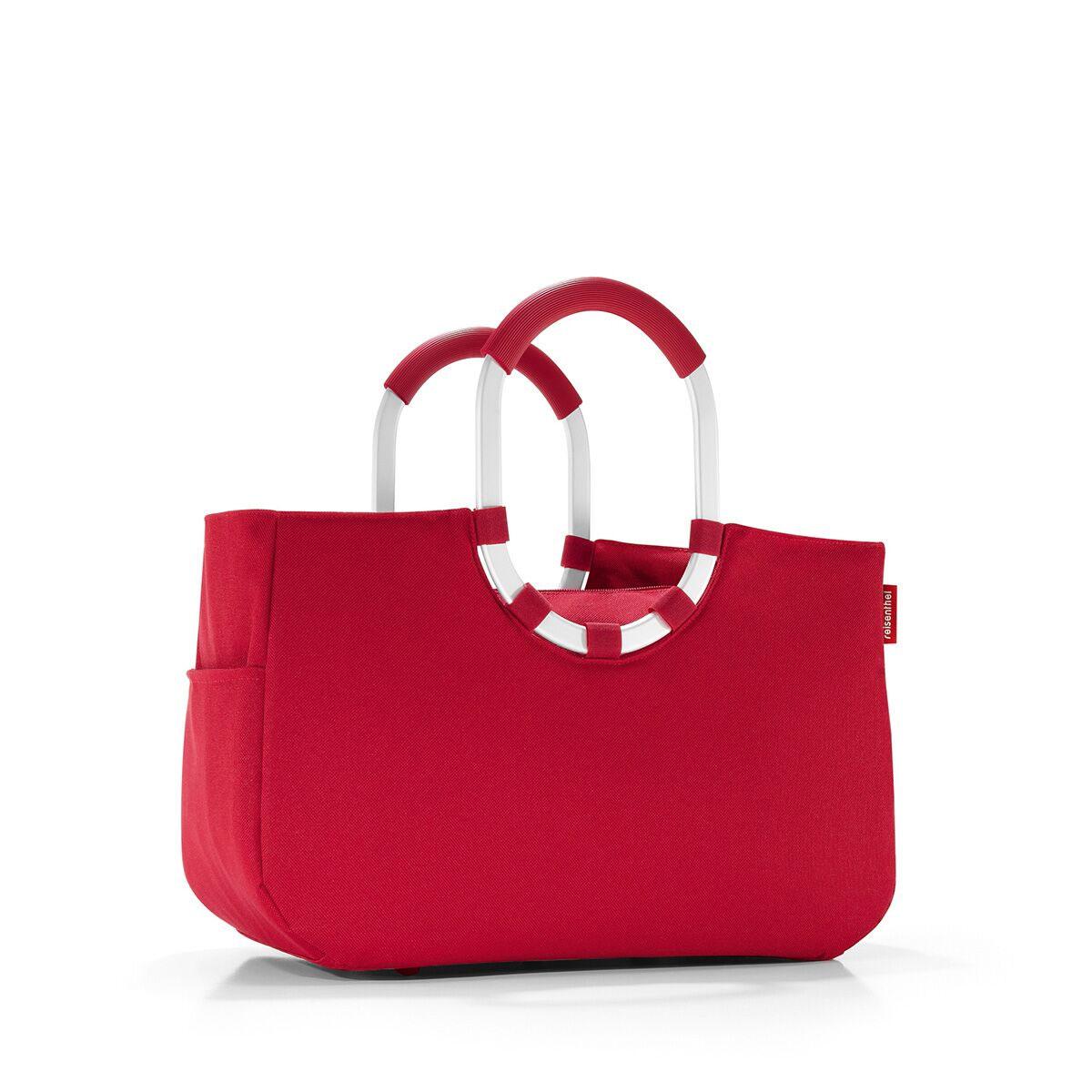 Сумка женская Reisenthel, цвет: темно-красный. OS3004OS3004Практичная женская сумка Reisenthel изготовлена из текстиля. Сумка имеет одно отделение, внутри которого находится прорезной карман на застежке- молнии. Снаружи, по боковым сторонам сумки расположены накладные открытые карманы. Изделие оснащено съемным отделением на застежке-молнии, которое пристегивается к сумке с помощью хлястиков с кнопками. Съемное отделение снаружи дополнено прорезным карманом на застежке-молнии и накладным открытым кармашком. Сумка оснащена двумя алюминиевыми ручками с прорезиненными накладками, которые фиксируются с помощью липучек. Основание изделия защищено от повреждений пластиковыми ножками.