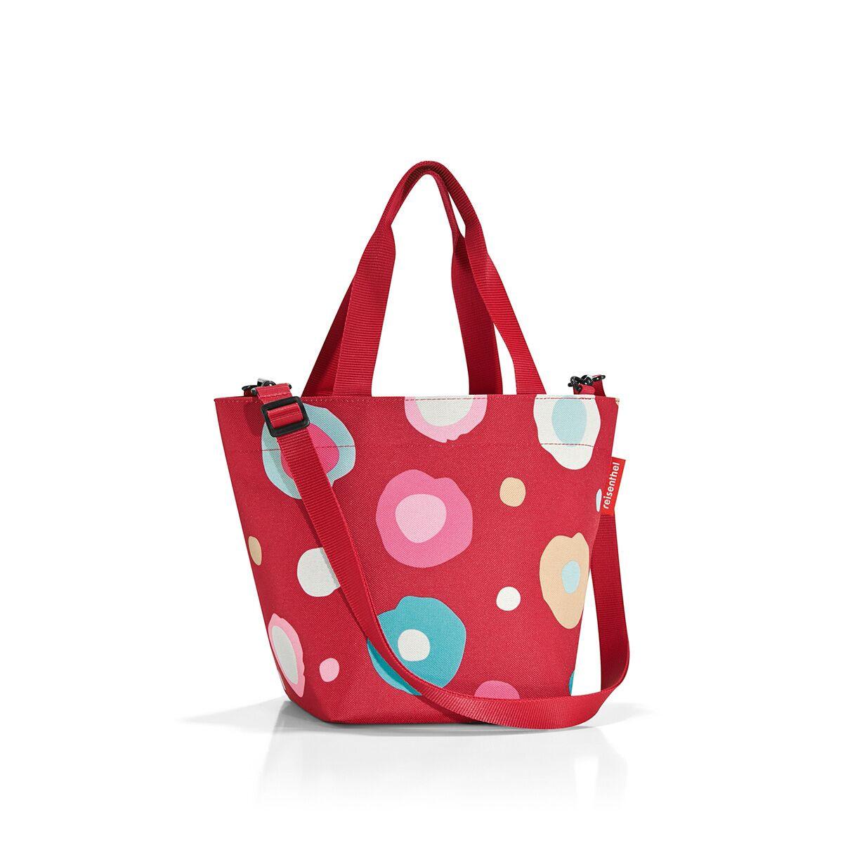 Сумка-шоппер жен. Reisenthel, цвет: красный. ZR3048ZR3048Уменьшенная версия классической сумки. Симпатичная сумка для похода в магазин: широкие удобные лямки распряделяют нагрузку на плече, а объем 4 литра позволяет вместить необходимый батон хлеба, пакет молока и другие вкусности. Застегивается на молнию. Внутри - кармашек на молнии для мелочей. Две ручки плюс ремешок с регулируемой длиной. Специальное уплотненное днище для стабильности. Серия special edition - это лимитированные модели сумок с уникальными принтами. Сочетают расцветки разных коллекций, а также имеют вышивку и аппликацию.