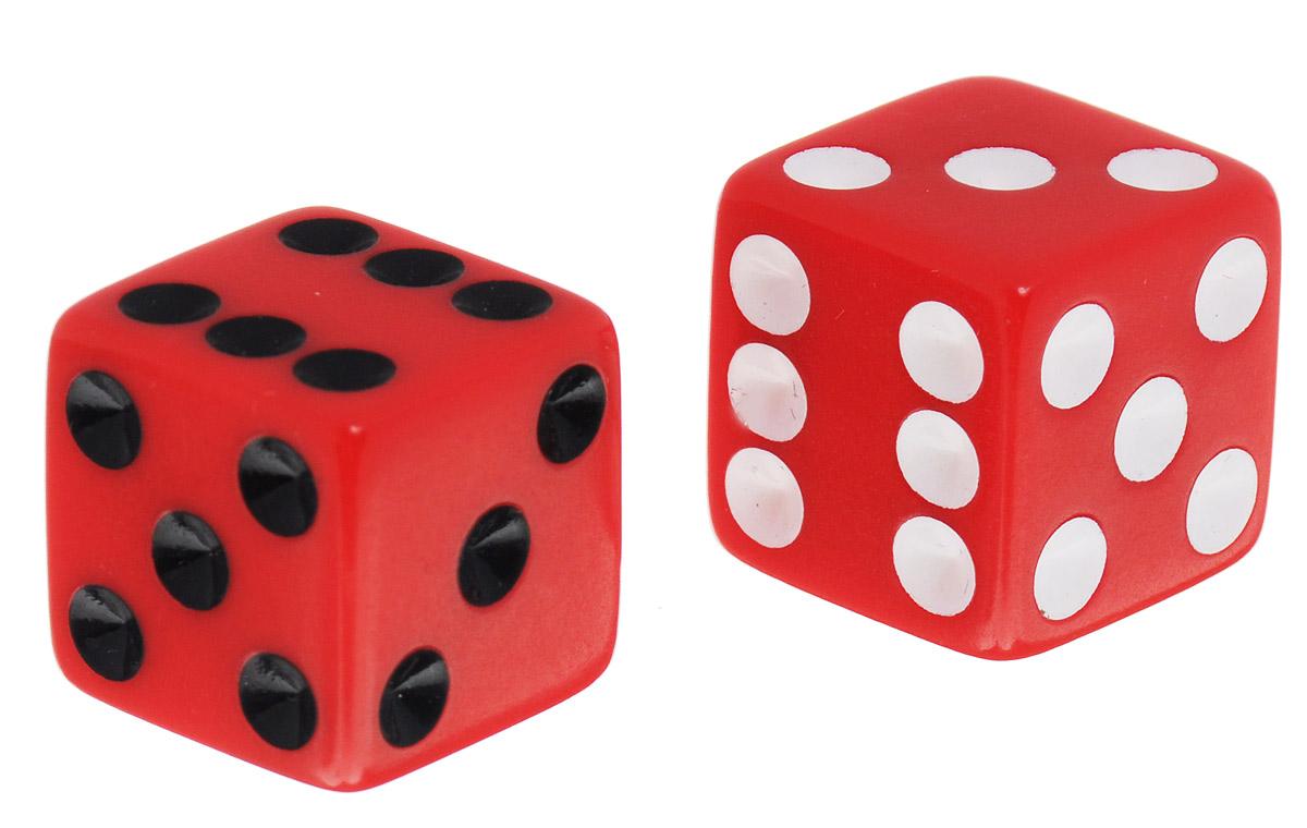 Koplow Games Набор игральных костей Простые D6 цвет красный 2 шт