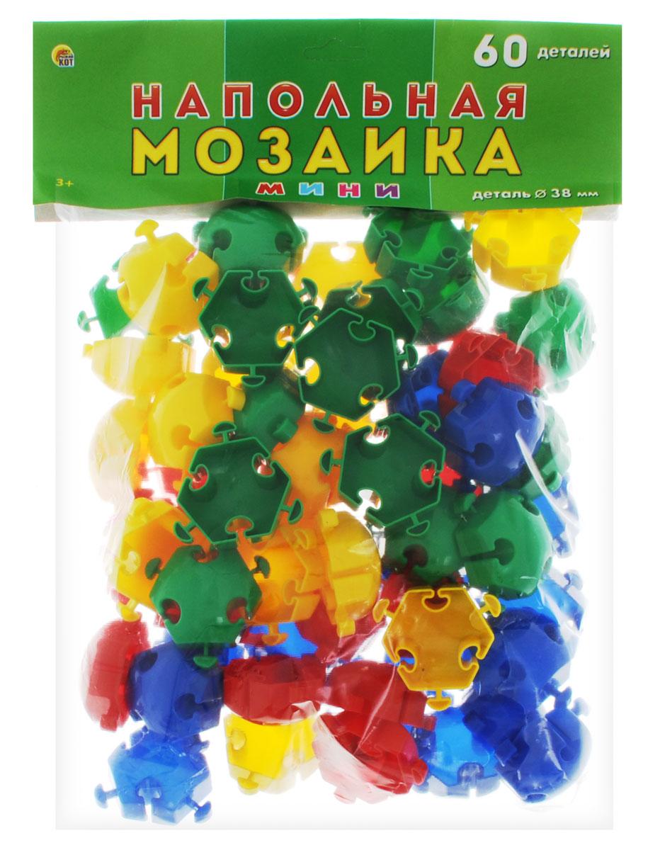 Рыжий Кот Мозаика напольная 60 элементовМ-0524Напольная мозаика Рыжий Кот - увлекательная развивающая игра для самых маленьких! Она развивает у ребёнка творческие способности, воображение, мелкую моторику рук, воображение, координацию движений. Эта мозаика открывает перед малышом неограниченные возможности создания собственных композиций. Конструкция мозаики позволяет с лёгкостью скреплять и фиксировать детали, которые состоят из высококачественных материалов, абсолютно безопасных для здоровья ребёнка. В комплекте 60 элементов мозаики.