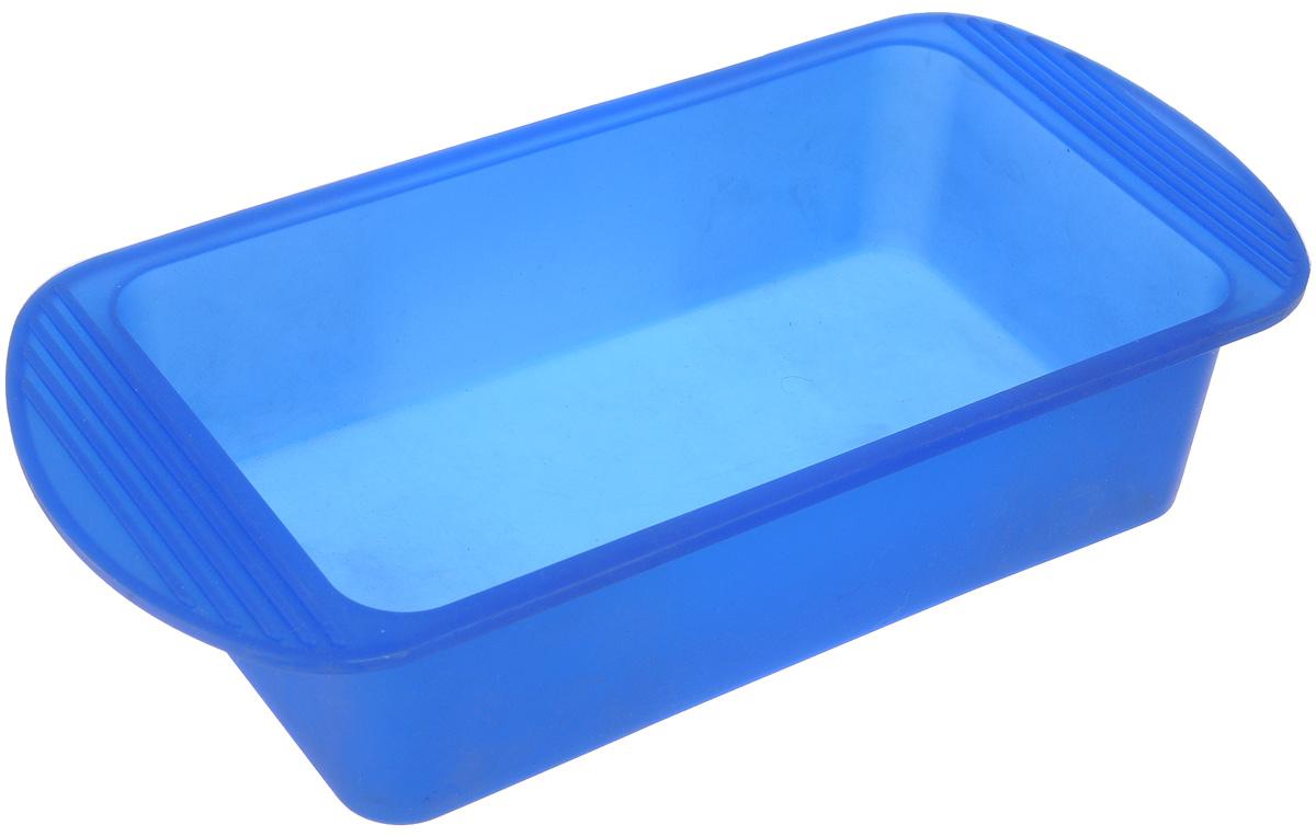 Форма для выпечки Mayer & Boch, силиконовая, цвет: синий, 27,5 х 14 х 6 см4396_синийФорма для выпечки Mayer & Boch изготовлена из высококачественного силикона. Стенки формы легко гнутся, что позволяет легко достать готовую выпечку и сохранить аккуратный внешний вид блюда. Силикон - материал, который выдерживает температуру от -40°С до +210°С. Изделия из силикона очень удобны в использовании: пища в них не пригорает и не прилипает к стенкам, форма легко моется. Приготовленное блюдо можно очень просто вытащить, просто перевернув форму, при этом внешний вид блюда не нарушится. Изделие обладает эластичными свойствами: складывается без изломов, восстанавливает свою первоначальную форму. Порадуйте своих родных и близких любимой выпечкой в необычном исполнении. Внутренний размер формы: 20,5 х 11 х 6 см.