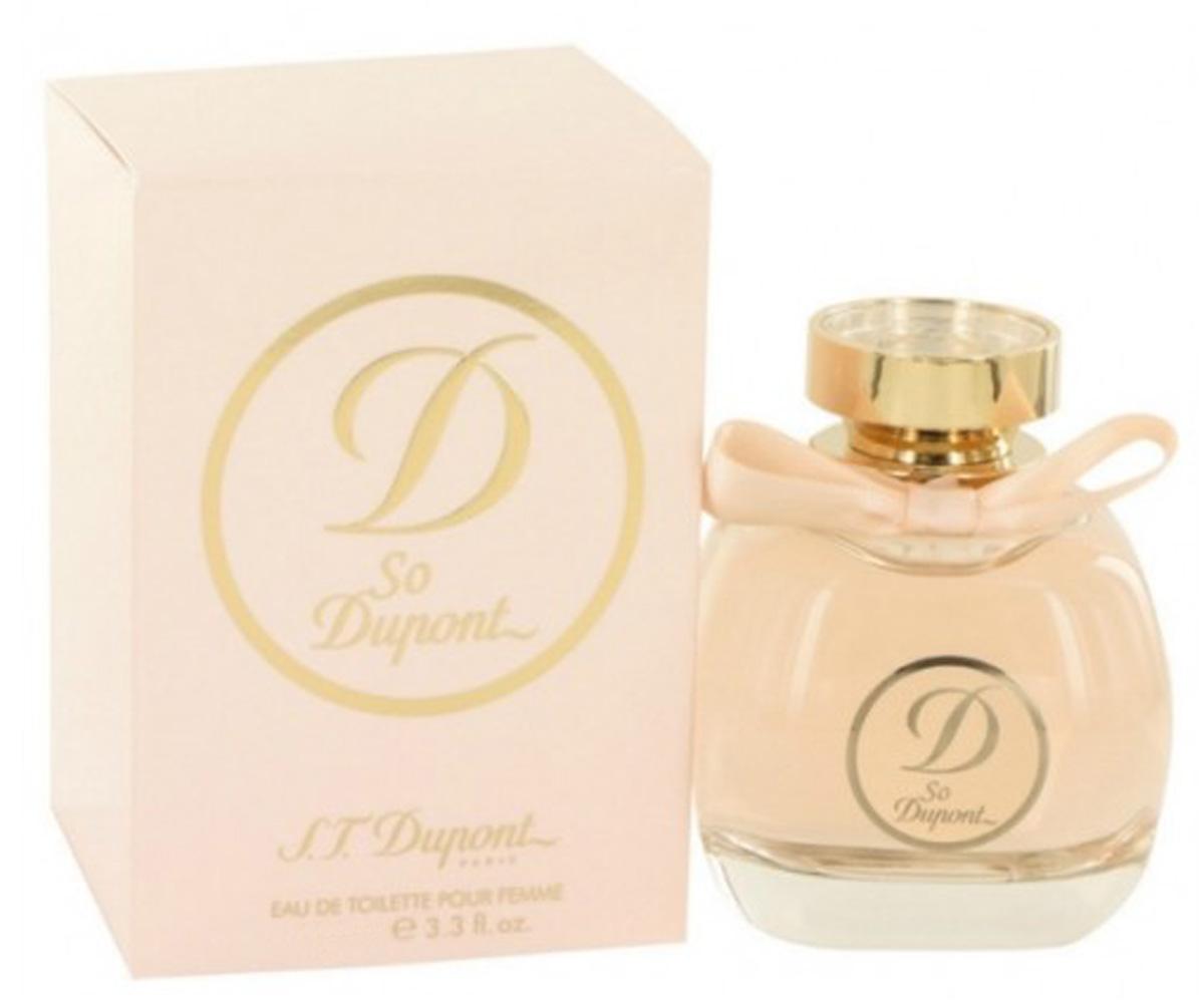 S.T. Dupont Туалетная вода So D`Femme, женская, 50 мл12902Цветочные, древесные, мускусные. Груша, ежевика, иланг-иланг, гиацинт. Пион, ландыш, магнолия, жасмин, мускус, сандаловое дерево, пачули, белый кедр.