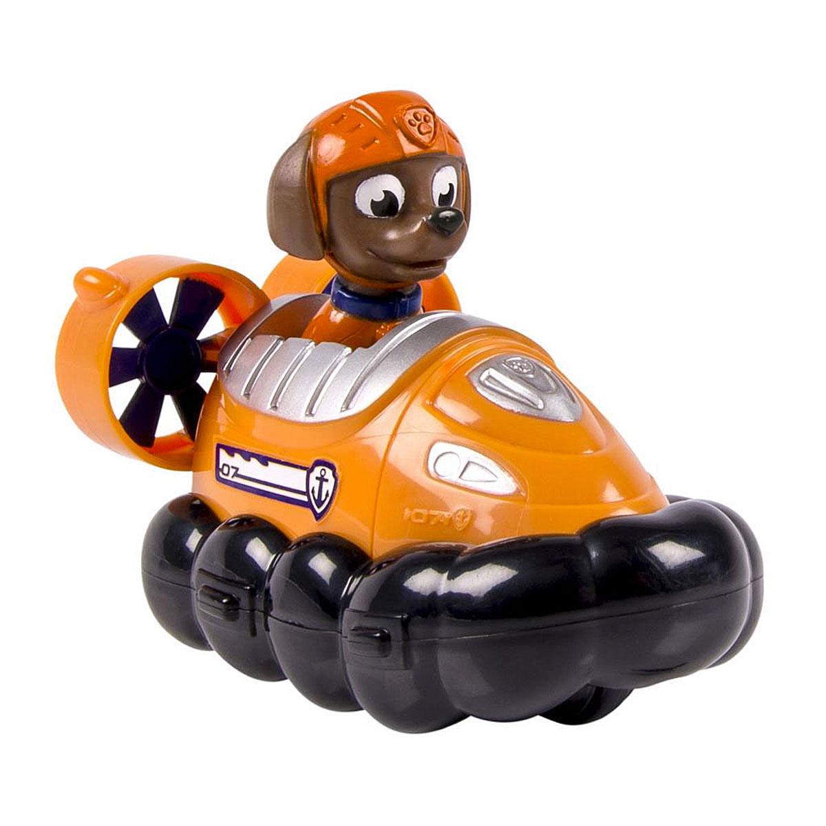 Paw Patrol Машинка спасателя Hovercraft Zuma16605 Hovercraft ZumaМашинка спасателя Hovercraft Zuma станет отличным подарком для маленьких поклонников мультсериала Щенячий патруль. Игрушка выполнена в виде катера на воздушной подушке, которым управляет щенок Зума. Игрушка выполнена из прочного высококачественного пластика. Катер дополнен колесиками, которые свободно вращаются, фигурка несъемная. Ваш малыш сможет часами играть с этой очаровательной игрушкой, разыгрывая сценки из мультфильма, или придумывая собственные истории.