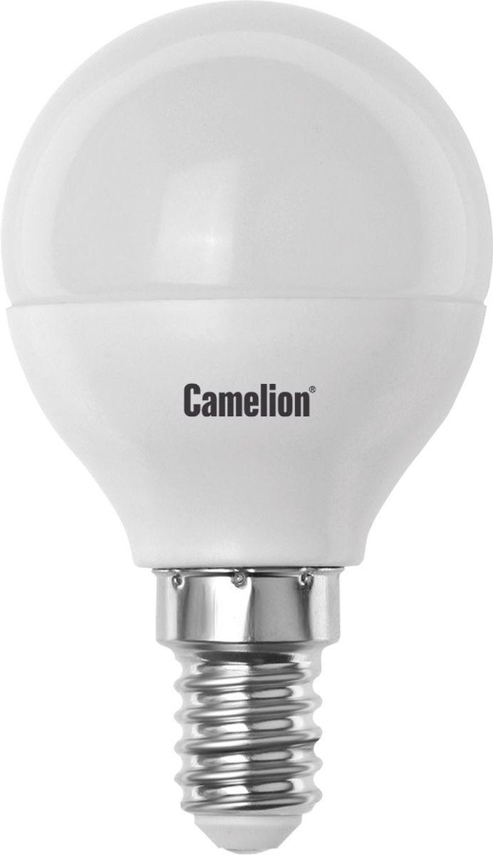 Лампа светодиодная Camelion, холодный свет, цоколь Е14, 3W11375Светодиодная лампа Camelion - это инновационное решение, разработанное на основе новейших светодиодных технологий (LED) для эффективной замены любых видов галогенных или обыкновенных ламп накаливания во всех типах осветительных приборов. Она хорошо подойдет для создания рабочей атмосферы в производственных и общественных зданиях, спортивных и торговых залах, в офисах и учреждениях. Лампа не содержит ртути и других вредных веществ, экологически безопасна и не требует утилизации, не выделяет при работе ультрафиолетовое и инфракрасное излучение. Напряжение: 220-240В/50 Гц. Индекс цветопередачи (Ra): 82+. Угол светового пучка: 180°. Срок службы: 30000 ч.