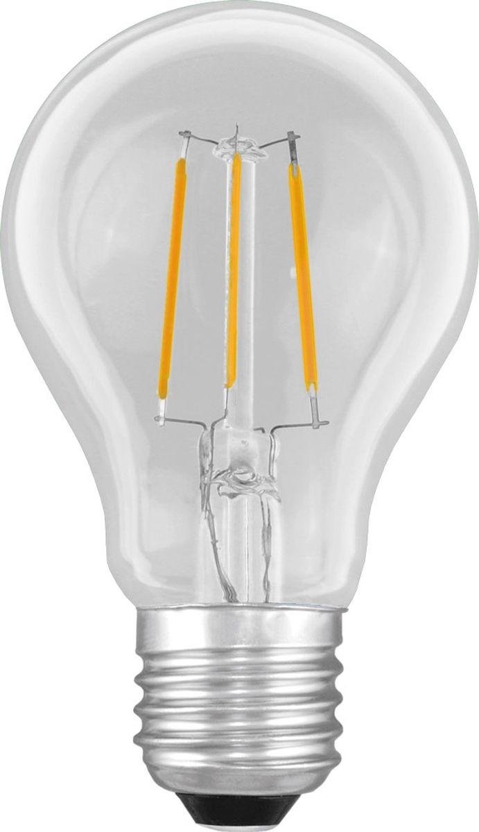 Лампа светодиодная Camelion, теплый свет, цоколь Е27, 6 W11988Светодиодная лампа, температура цвета 3000К (Теплый цвет), напряжение 220 Вольт