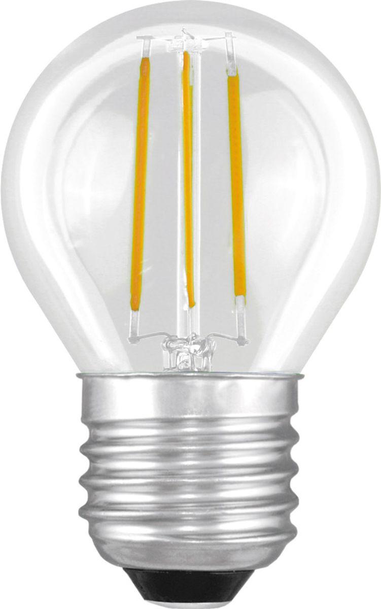 Лампа светодиодная Camelion, теплый свет, цоколь Е27, 4 W11993Светодиодная лампа, температура цвета 3000К (Теплый цвет), напряжение 220 Вольт