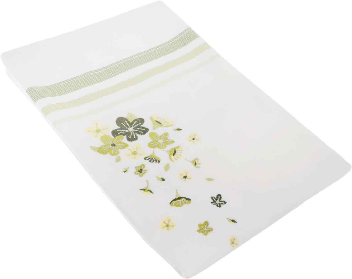 Полотенце махровое TAC Adelia, цвет: белый, зеленый, 50 x 90 см1050-84691Махровое полотенце TAC Adelia выполнено из натуральной махровой ткани (100% хлопок). Изделие отлично впитывает влагу, быстро сохнет, сохраняет яркость цвета и не теряет форму даже после многократных стирок. Полотенце очень практично и неприхотливо в уходе. Такое полотенце прекрасно дополнит интерьер ванной комнаты. Рекомендации по уходу: - режим стирки при 40°C, - допускается деликатная сухая химчистка, - отбеливание запрещено, - глажка при температуре подошвы утюга до 200°С, - рекомендуется щадящий барабанный отжим.