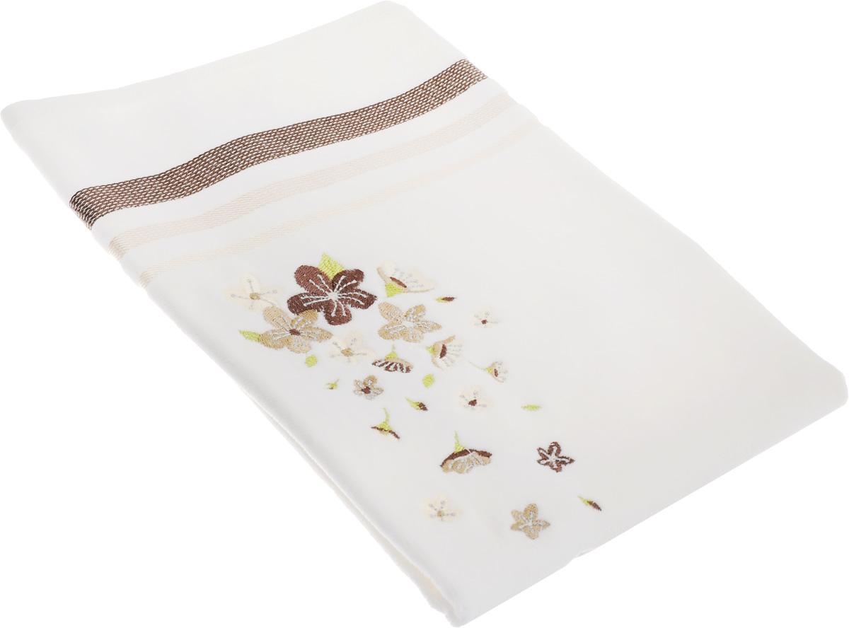 Полотенце махровое TAC Adelia, цвет: белый, бежевый, 50 x 90 см1050-84692Махровое полотенце TAC Adelia выполнено из натуральной махровой ткани (100% хлопок). Изделие отлично впитывает влагу, быстро сохнет, сохраняет яркость цвета и не теряет форму даже после многократных стирок. Полотенце очень практично и неприхотливо в уходе. Такое полотенце прекрасно дополнит интерьер ванной комнаты. Рекомендации по уходу: - режим стирки при 40°C, - допускается деликатная сухая химчистка, - отбеливание запрещено, - глажка при температуре подошвы утюга до 200°С, - рекомендуется щадящий барабанный отжим.