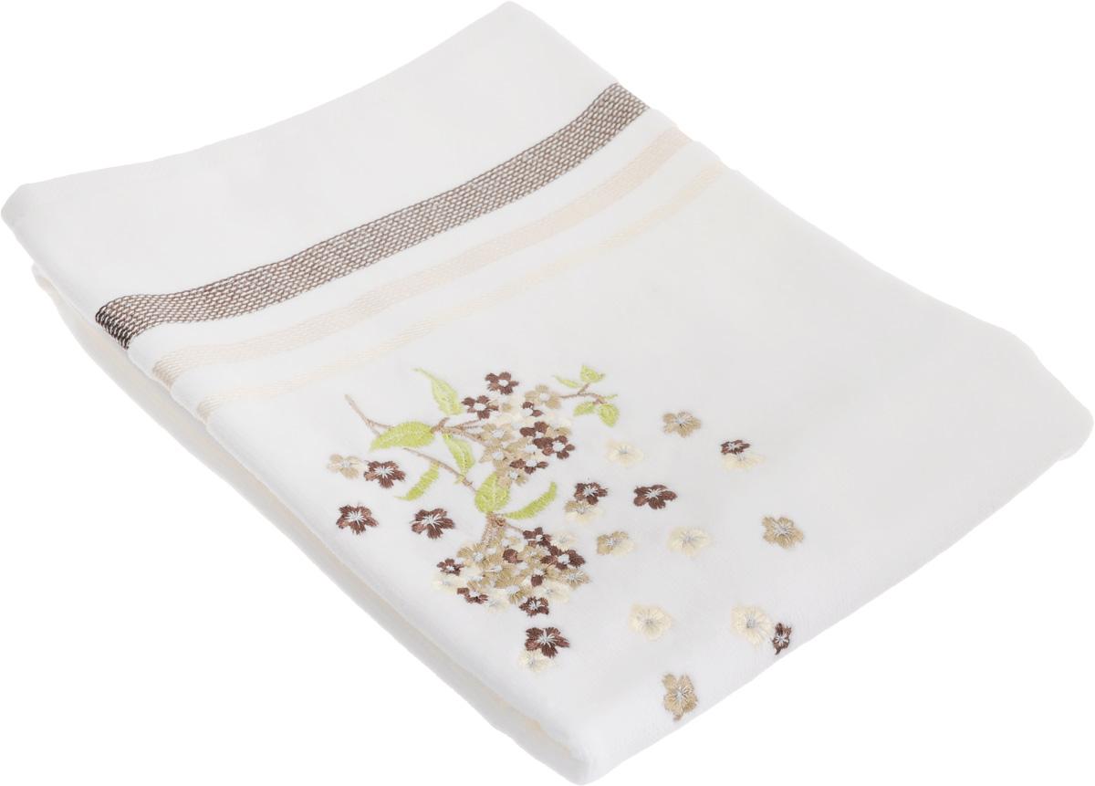 Полотенце махровое TAC Fusion, цвет: белый, бежевый, 50 x 90 см1050-84704Махровое полотенце TAC Fusion выполнено из натуральной махровой ткани (100% хлопок). Изделие отлично впитывает влагу, быстро сохнет, сохраняет яркость цвета и не теряет форму даже после многократных стирок. Полотенце очень практично и неприхотливо в уходе. Такое полотенце прекрасно дополнит интерьер ванной комнаты. Рекомендации по уходу: - режим стирки при 40°C, - допускается деликатная сухая химчистка, - отбеливание запрещено, - глажка при температуре 200°С, - рекомендуется щадящий барабанный отжим.