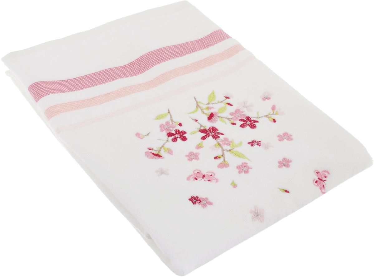 Полотенце махровое TAC Legrand, цвет: розовый, белый, 50 x 90 см1050-84684Махровое полотенце TAC Legrand выполнено из натуральной махровой ткани (100% хлопок). Изделие отлично впитывает влагу, быстро сохнет, сохраняет яркость цвета и не теряет форму даже после многократных стирок. Полотенце очень практично и неприхотливо в уходе. Такое полотенце прекрасно дополнит интерьер ванной комнаты. Рекомендации по уходу: - режим стирки при 40°C, - допускается деликатная сухая химчистка, - отбеливание запрещено, - глажка при температуре подошвы утюга до 200°С, - рекомендуется щадящий барабанный отжим. Размер полотенца: 50 x 90 см.