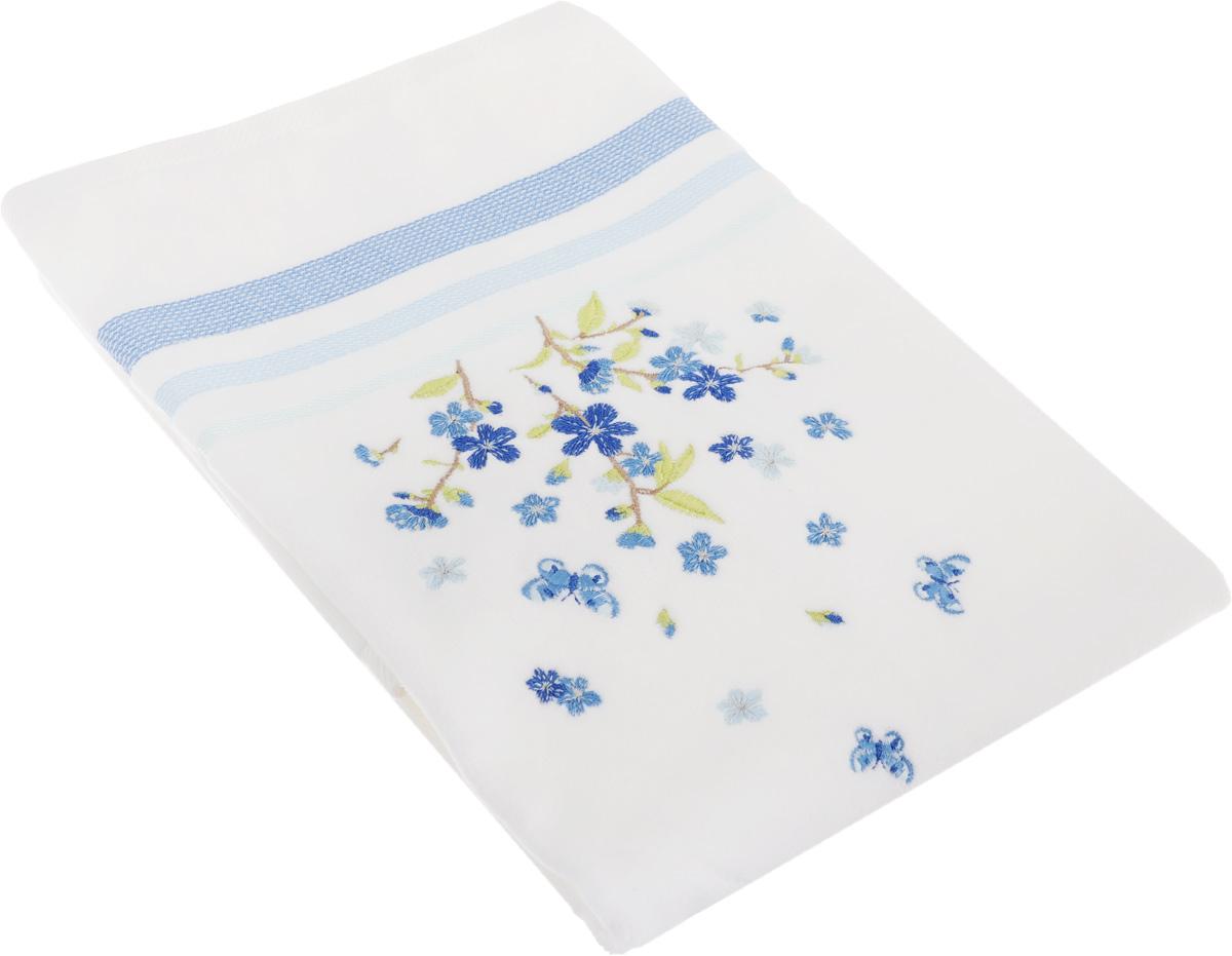 Полотенце махровое TAC Legrand, цвет: голубой, белый, 50 x 90 см1050-84688Махровое полотенце TAC Legrand выполнено из натуральной махровой ткани (100% хлопок). Изделие отлично впитывает влагу, быстро сохнет, сохраняет яркость цвета и не теряет форму даже после многократных стирок. Полотенце очень практично и неприхотливо в уходе. Такое полотенце прекрасно дополнит интерьер ванной комнаты. Рекомендации по уходу: - режим стирки при 40°C, - допускается деликатная сухая химчистка, - отбеливание запрещено, - глажка при температуре подошвы утюга до 200°С, - рекомендуется щадящий барабанный отжим. Размер полотенца: 50 x 90 см.