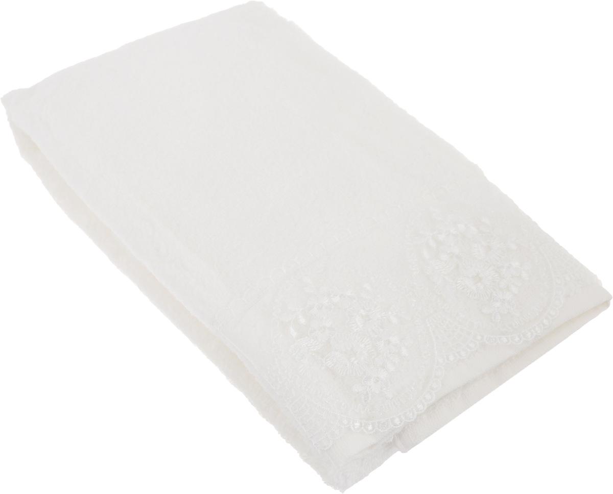 Полотенце махровое TAC Zero Twist, цвет: кремовый, 50 x 90 см. 10341034-84636Махровое полотенце TAC Zero Twist выполнено из натуральной махровой ткани (100% хлопок). Изделие отлично впитывает влагу, быстро сохнет, сохраняет яркость цвета и не теряет форму даже после многократных стирок. Полотенце очень практично и неприхотливо в уходе. Такое полотенце прекрасно дополнит интерьер ванной комнаты. Рекомендации по уходу: - режим стирки при 40°C, - допускается деликатная сухая химчистка, - отбеливание запрещено, - глажка при температуре 200°С, - рекомендуется щадящий барабанный отжим.