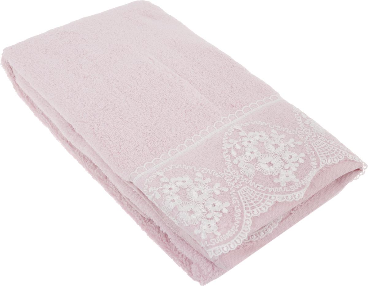 Полотенце махровое TAC Zero Twist, цвет: чайная роза, 50 x 90 см. 10341034-84638Махровое полотенце TAC Zero Twist выполнено из натуральной махровой ткани (100% хлопок). Изделие отлично впитывает влагу, быстро сохнет, сохраняет яркость цвета и не теряет форму даже после многократных стирок. Полотенце очень практично и неприхотливо в уходе. Такое полотенце прекрасно дополнит интерьер ванной комнаты. Рекомендации по уходу: - режим стирки при 40°C, - допускается деликатная сухая химчистка, - отбеливание запрещено, - глажка при температуре 200°С, - рекомендуется щадящий барабанный отжим.