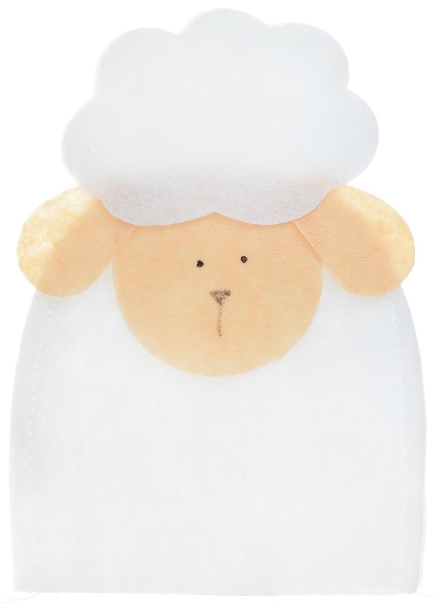 Грелка для яйца декоративная Home Queen Овечка, 9,5 х 12,5 см64521_3Декоративная грелка для яйца Home Queen Овечка изготовлена из фетра. Мягкая и приятная на ощупь, грелка внесет частичку тепла и веселья в ваш дом, а также станет замечательным подарком для друзей и близких.