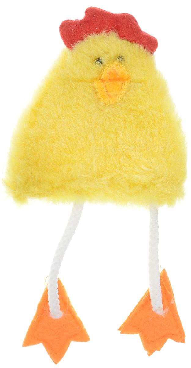 Грелка для яйца декоративная Home Queen Цыпленок, 10 х 16 см60854Декоративная грелка для яйца Home Queen Цыпленок изготовлена из полиэстера. Изделие выполнено в виде забавного цыпленка. Мягкая и приятная на ощупь, грелка внесет частичку тепла и веселья в ваш дом, а также станет замечательным подарком для друзей и близких.