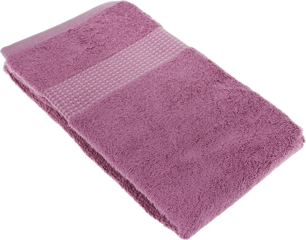 Полотенце махровое TAC Zero Twist, цвет: фиолетовый, 50 x 90 см1038-84655Махровое полотенце TAC Zero Twist выполнено из натуральной махровой ткани (65%хлопок, 35% бамбук). Изделие отлично впитывает влагу, быстро сохнет, сохраняет яркость цвета и не теряет форму даже после многократных стирок. Полотенце очень практично и неприхотливо в уходе. Такое полотенце прекрасно дополнит интерьер ванной комнаты. Рекомендации по уходу: - режим стирки при 40°C, - допускается деликатная сухая химчистка, - отбеливание запрещено, - глажка при температуре подошвы утюга до 200°С, - рекомендуется щадящий барабанный отжим. Размер полотенца: 50 x 90 см.