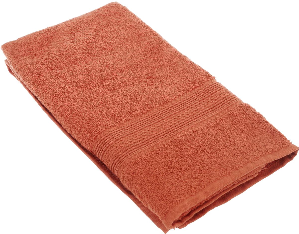 Полотенце махровое TAC Touchsoft, цвет: терракот, 50 x 90 см0911-84080Махровое полотенце TAC Touchsoft выполнено из натуральной махровой ткани (100% хлопок). Изделие отлично впитывает влагу, быстро сохнет, сохраняет яркость цвета и не теряет форму даже после многократных стирок. Полотенце очень практично и неприхотливо в уходе. Такое полотенце прекрасно дополнит интерьер ванной комнаты. Рекомендации по уходу: - режим стирки при 40°C, - допускается деликатная сухая химчистка, - отбеливание запрещено, - глажка при температуре 200°С, - рекомендуется щадящий барабанный отжим.