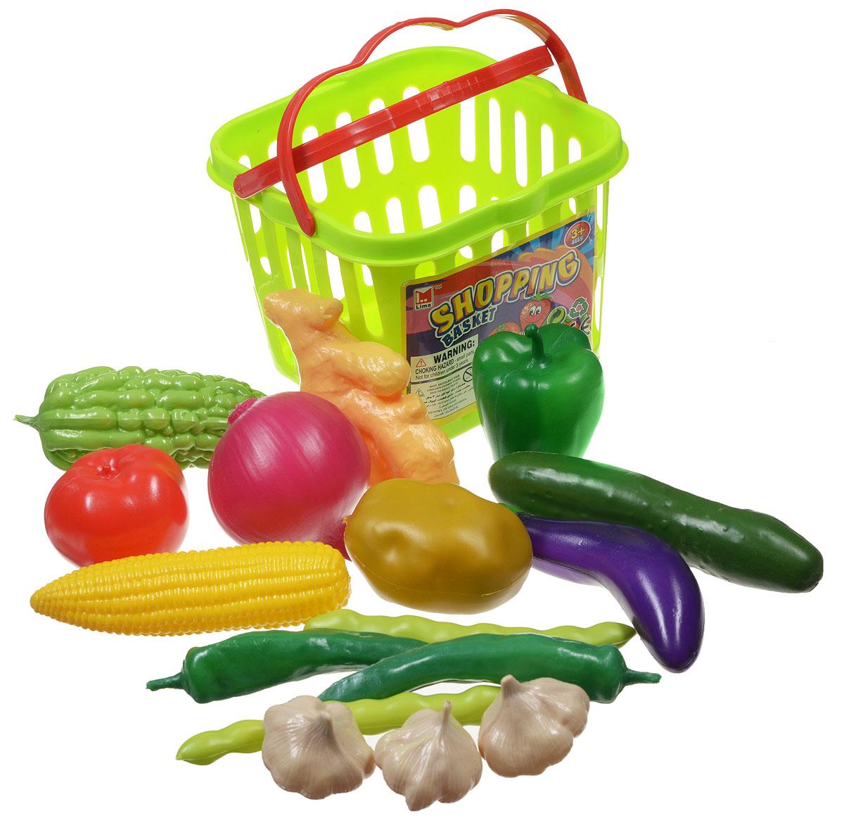 Junfa Toys Игровой набор Овощи в корзине junfa toys овощей в корзинке  25