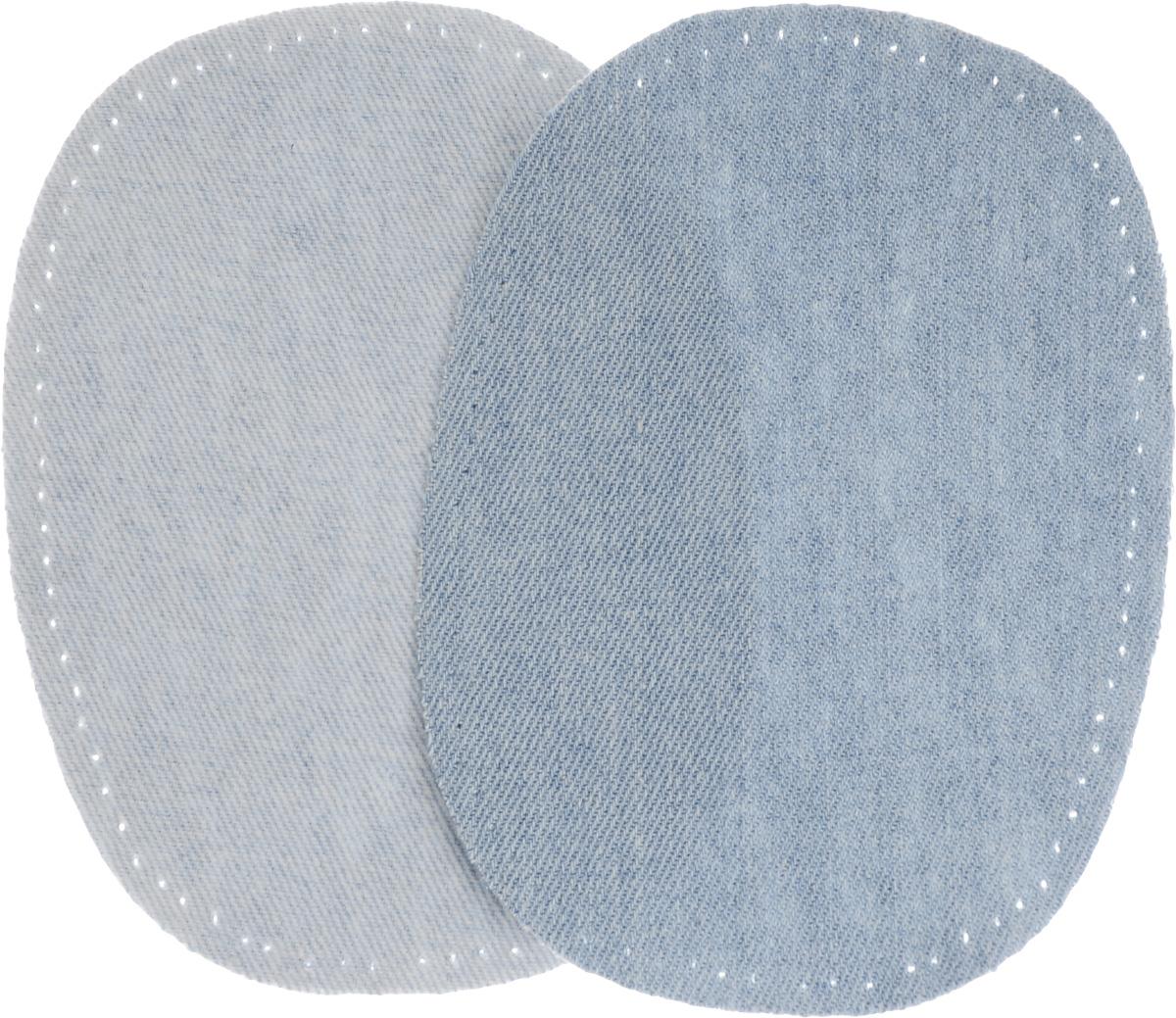 Заплатка термоклеевая Prym, 10 х 14 см, 2 шт342560Заплатка термоклеевая Prym изготовлена из джинсовой ткани (100% хлопок) и предназначена для защиты участков одежды, подвергающихся повышенной нагрузке. Заплатку можно пристрочить или приутюжить. Комплектация: 2 шт. Размер заплатки: 10 х 14 см.