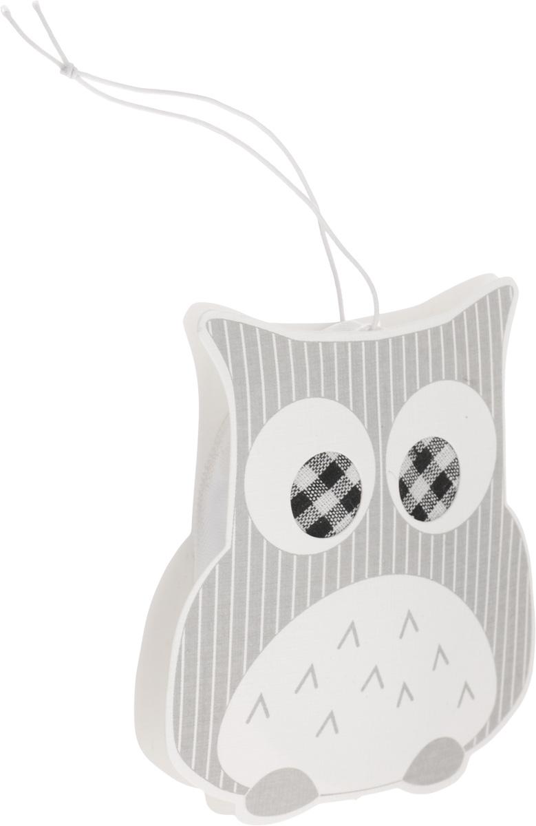 Саше ароматизированное Феникс-Презент Сова, подвесное, грейпфрут39057Оригинальное подвесное саше Феникс-Презент Сова выполнено в виде совы из бумаги, текстиля и вермикулита. Изделие предназначено для ароматизации гардеробов, белье приобретет тонкий, нежный аромат. Размер саше: 8 х 1,2 х 9 см.