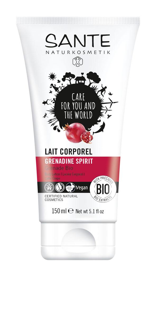 SANTE Лосьон для тела Энергия Граната, 150 мл44546Балует кожу экстрактами зерен граната и пассифлоры, делает ее нежной и бархатистой.
