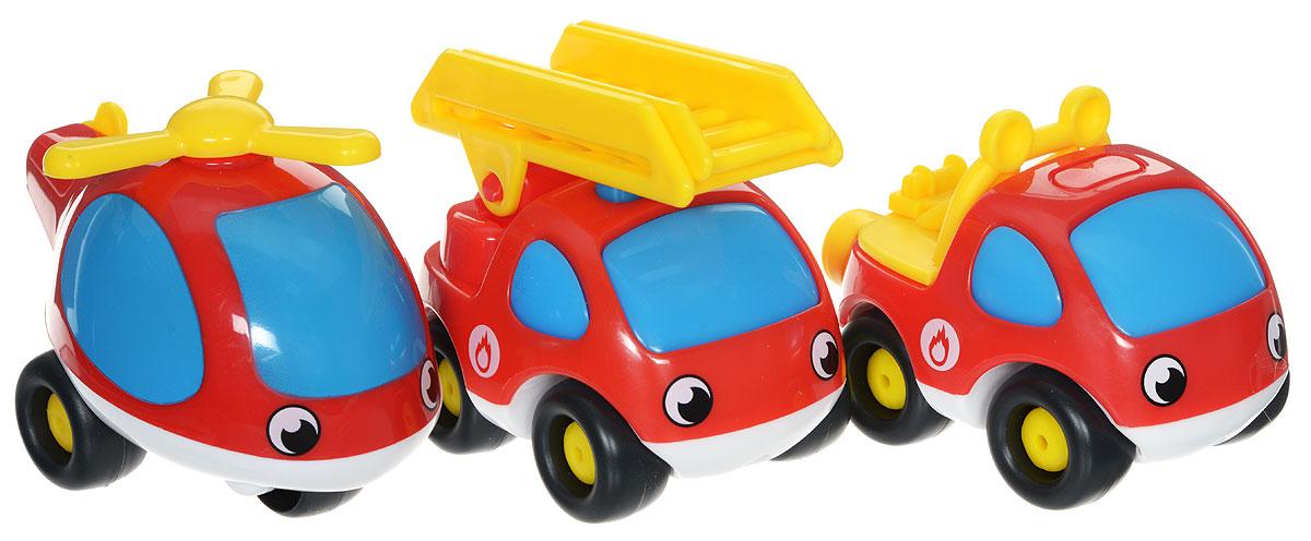 Smoby Набор машинок Vroom Planet 3 шт750032Набор машинок Smoby Vroom Planet обязательно заинтересует вашего малыша! Это маленькие машинки, с забавным дизайном, глазками и ярким оформлением. Такие игрушки нравятся детям и заставляют их активно развиваться. Они отлично ездят, а играть с ними можно как дома, так и на улице. В наборе малыш найдет не только машинки, но и вертолет. Машинки выполнены из качественного, безопасного пластика. Все машинки легко едут вперед и назад, имеют обтекаемую безопасную форму, без острых углов и мелких деталей. Игры с разноцветными машинками полезны для фантазии, они стимулируют ребенка к действиям и придумыванию, развивают мелкую моторику и тренируют пальчики, улучшают координацию движений.