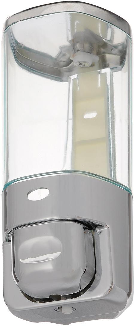 Дозатор для жидкого мыла Argo, 450 мл33926Дозатор для жидкого мыла Argo выполнен из пластика с покрытием из хрома. Такой аксессуар очень удобен в использовании, достаточно лишь перелить жидкое мыло в дозатор, а когда необходимо использование мыла, легким нажатием выдавить нужное количество. Крышка дозатора закрывается на ключ. При чистке изделия рекомендуется применять влажную губку, смоченную в воде, затем вытереть насухо тканью. Не допускается применение абразивных моющих средств, а также содержащих хлор, кислоты, щелочи либо спирт. Дозатор для жидкого мыла Argo создаст особую атмосферу уюта и максимального комфорта в ванной. В комплект входит: крепежная планка, ключ, крепеж, дозатор. Размер дозатора: 8 х 8 х 18 см. Объем дозатора: 450 мл.