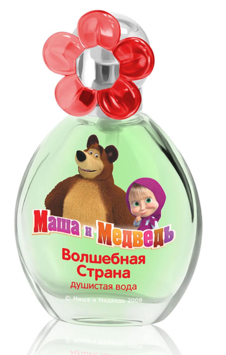Маша и Медведь Душистая вода Волшебная Страна 35 мл