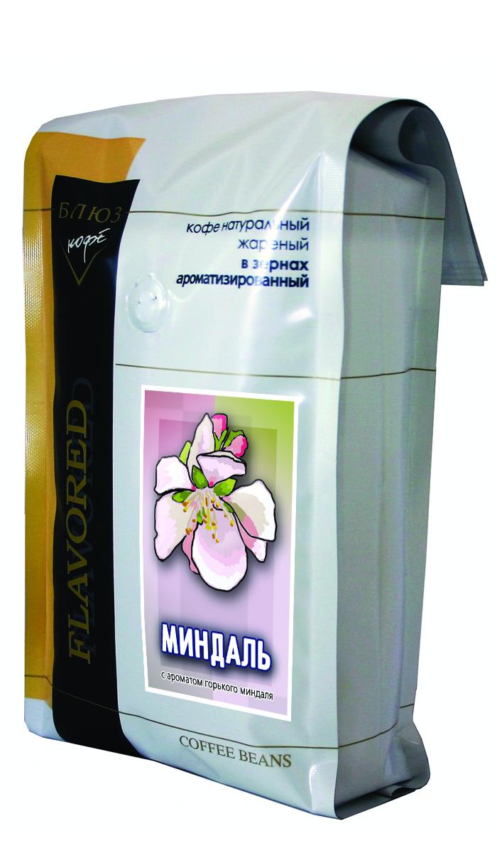 Блюз Ароматизированный Миндаль кофе в зернах, 1 кг