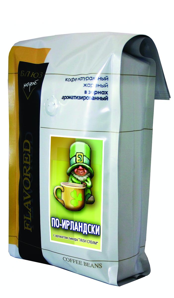 Блюз Ароматизированный По-ирландски (Irish Cream) кофе в зернах, 1 кг4600696110050Блюз По-ирландски - самый популярный сорт ароматизированного кофе. Феерическое сочетание лучших сортов кофе Арабика, ирландского виски и сливок. Обладает мягким, насыщенным вкусом, с характерным ароматом, присущим ликерам Baileys и Carolines.