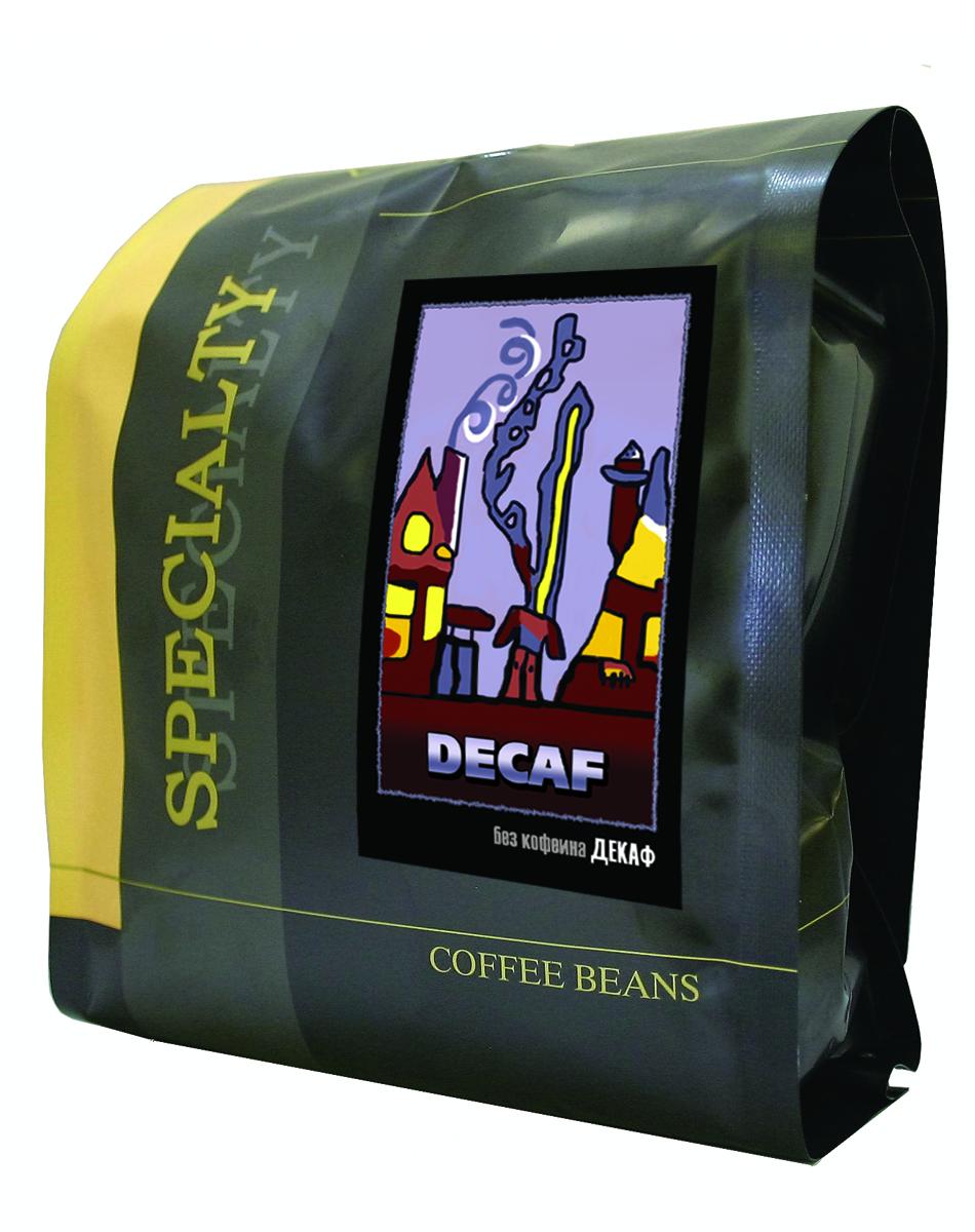 Блюз Декаф без кофеина кофе в зернах, 500 г4600696260014Блюз Декаф - подобранная смесь кофейных зерен вида арабика, прошедших специальную обработку по новой технологии Swiss Water Process без применения каких-либо химикатов. Эта технология позволяет значительно снизить содержание кофеина в зрелом зерне, не изменяя его вкусовых характеристик, и дает возможность людям с повышенным артериальным давлением наслаждаться чашечкой густого ароматного кофе без опасений за свое здоровье.