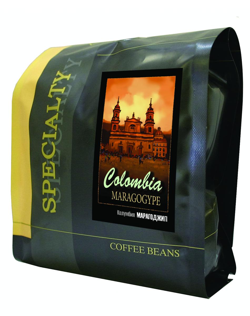 Блюз Марагоджип Колумбия кофе в зернах, 500 г4600696460117Кофе Блюз Марагоджип Колумбия выращивается в самых экологически чистых регионах Латинской Америки. Напиток имеет тонкий, ярко выраженный аромат, а также мягкий, слегка винный вкус. Настой насыщенный, со средней кислотностью.