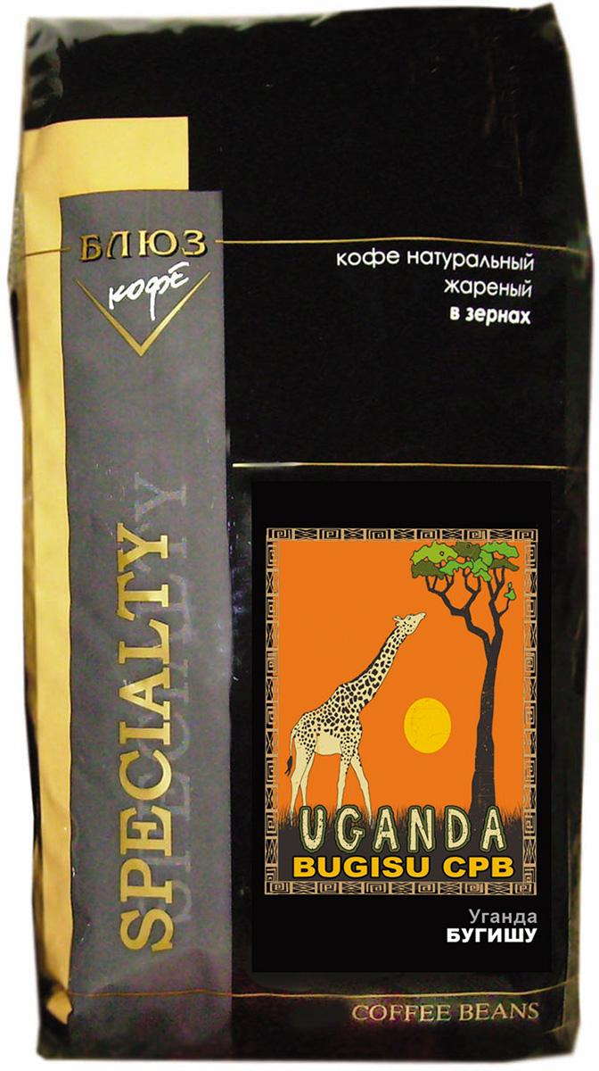 Блюз Бугишу Уганда кофе в зернах, 1 кг4600696810028Кофе Блюз Бугишу Уганда выращивают на горе Элгон, расположенной на северо-востоке Уганды в районе под названием Северный Бугишу, вдоль кенийской границы. Арабику, из которой производят кофе Bugisu, выращивают на небольших фермах, которые называются шэмбас. Кофе на них растет в тени бананов и среди маниоки.