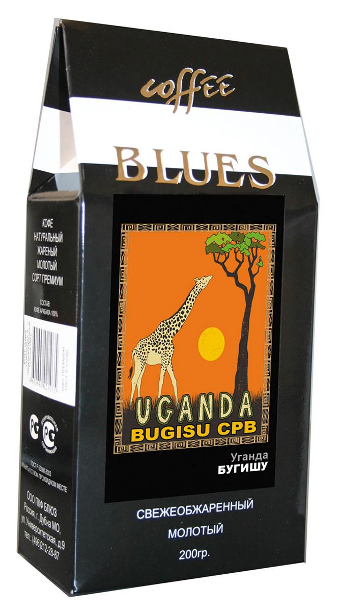 Блюз Бугишу Уганда кофе молотый, 200 г