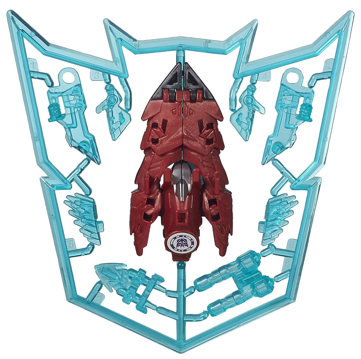 Transformers Трансформер Mini-con RatbatB0763EU4_B3054Трансформер Mini-con Ratbat обязательно привлечет внимание вашего малыша не позволит ему скучать. Игрушка выполнена из безопасного для ребенка материала. Чтобы начать игру, необходимо освободить игрушку от рамы, к которой она прикреплена. Трансформер несмотря на свои небольшие размеры, трансформируется в один шаг из маленького объекта в сильного робота. В этом режиме его можно вооружить при помощи различных аксессуаров, которые прикреплены к раме и входят в набор. Ребенок с удовольствием будет играть с фигуркой, придумывая разные истории. Порадуйте его таким замечательным подарком!
