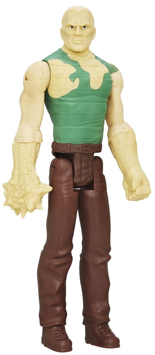 Spider-Man Фигурка Marvels SandmanB5755EU4_B6388Фигурка Spider-Man Marvels Sandman порадует любого поклонника знаменитой вселенной Marvel. Фигурка изготовлена из высококачественного прочного пластика и выполнена в виде знаменитого персонажа Marvel Песочного человека. Фигурка имеет 5 точек артикуляции - голова, руки и ноги подвижны. Фигурка Spider-Man Marvels Sandman понравится как детям, так и взрослым коллекционерам, она станет отличным сувениром или займет достойное место в коллекции любого поклонника комиксов Marvel!