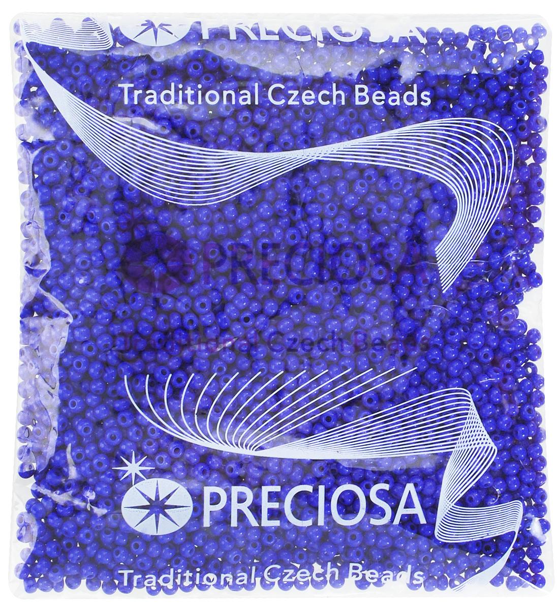 Бисер Preciosa Ассорти, матовый, цвет: темно-синий (08), 10/0, 50 г. 163142163142_08_синийБисер Preciosa Ассорти, изготовленный из стекла круглой формы, позволит вам своими руками создать оригинальные ожерелья, бусы или браслеты, а также заняться вышиванием. В бисероплетении часто используют бисер разных размеров и цветов. Он идеально подойдет для вышивания на предметах быта и женской одежде. Изготовление украшений - занимательное хобби и реализация творческих способностей рукодельницы, это возможность создания неповторимого индивидуального подарка.