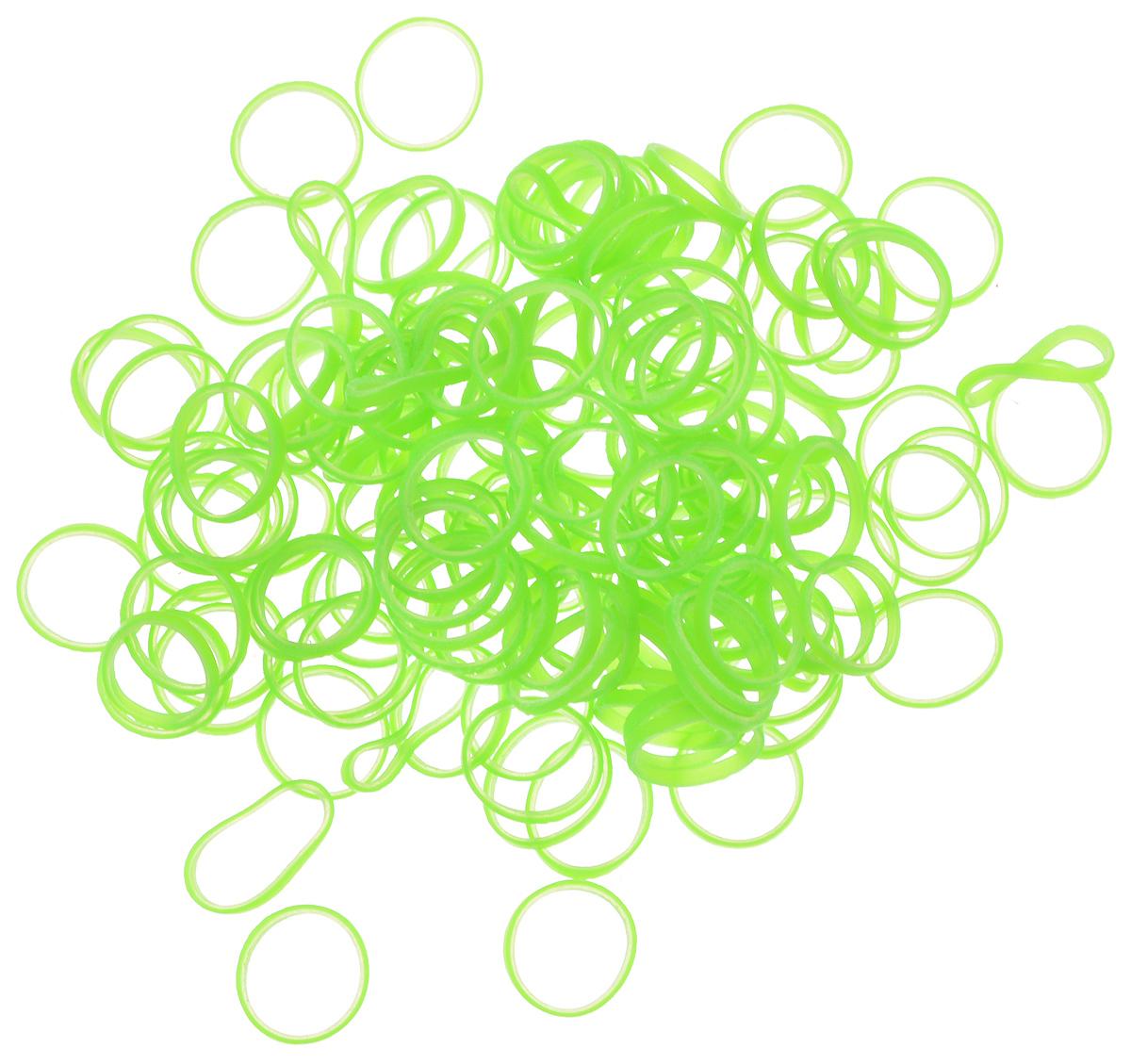 Резинки для собак Lainee, цвет: ярко-зеленый, размер L, 200 штLBLHGQРезинки для собак Lainee изготовлены из 100% латекса. Резинки используются для формирования топ-кнотов у собак с особо густой плотностью шерсти. Резинки одноразовые, срезаются ножницами. Диаметр резинки: 1 см. Комплектация: 200 шт.