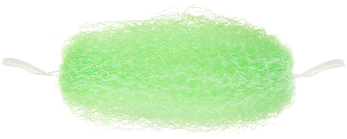 Мочалка массажная Eva, с ручками, цвет: салатовый. М351М351_салатовыйБольшая массажная мочалка Eva, изготовленная из полиэтилена, станет незаменимым аксессуаром ванной комнаты. Она отлично пенится и быстро сохнет. Мочалка оснащена ручками, а также обладает массажным эффектом, тонизирует и очищает кожу. Идеальна для профилактики и борьбы с целлюлитом. Подходит для всех типов кожи. Размер мочалки (без учета ручек): 34 х 14 х 11м. Длина мочалки (с учетом ручек): 47 см.