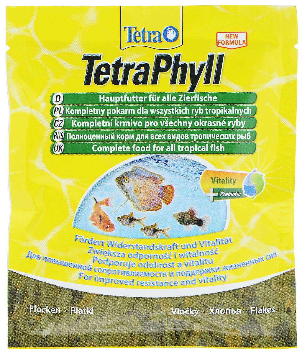 Корм Tetra TetraPhyll для всех видов тропических рыб, хлопья, 12 г134430Корм Tetra TetraPhyll - превосходная смесь хлопьев со специальным растительным комплексом для полноценного питания и ежедневного кормления. Идеальный корм для всех травоядных тропических рыб. Высокое содержание растительных компонентов способствует улучшению здоровья и поддержанию жизненных сил рыб. Незаменимые волокна стимулируют пищеварение, что особенно необходимо травоядным рыбам. Запатентованная БиоАктив-формула обеспечивает высокую продолжительность жизни и хорошее здоровье рыб. Состав: рыба и побочные рыбные продукты, зерновые культуры, дрожжи, экстракты растительного белка, моллюски и раки, водоросли, масла и жиры, сахар (олигофруктоза 1%), минеральные вещества. Аналитические компоненты: сырой белок 46%, сырые масла и жиры 9%, сырая клетчатка 2%, влага 6%. Добавки: витамины, провитамины и химические вещества с аналогичным воздействием: витамин A 29720 МЕ/кг, витамин Д3 1860 МЕ/кг. Комбинации микроэлементов: Е5...