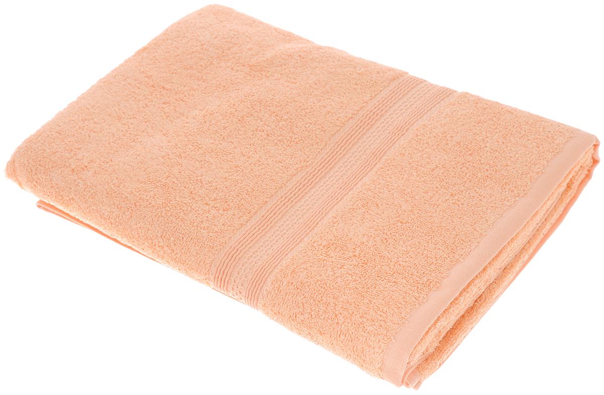 Полотенце махровое TAC Touchsoft, цвет: персиковый, 70 х 140 см0912-84053Полотенце TAC Touchsoft выполнено из натуральной махровой ткани (100% хлопок). Изделие отлично впитывает влагу, быстро сохнет, сохраняет яркость цвета и не теряет форму даже после многократных стирок. Полотенце очень практично и неприхотливо в уходе. Оно создаст прекрасное настроение и украсит интерьер в ванной комнате.