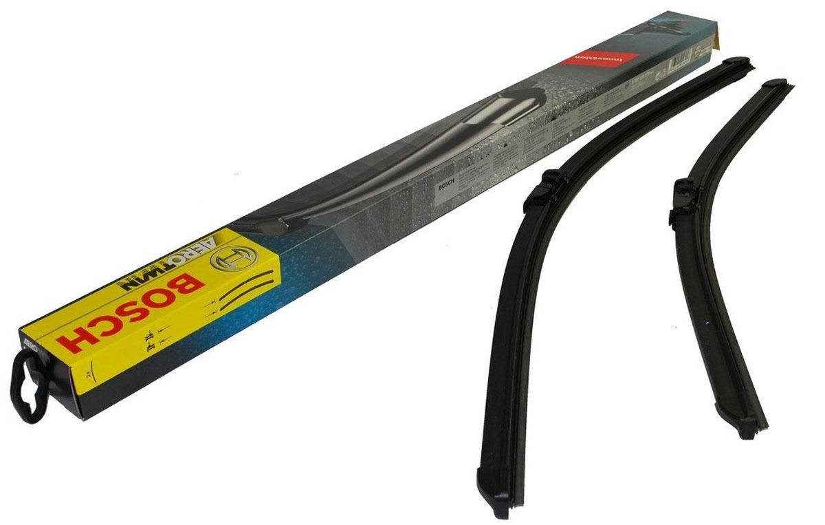 Комплект щеток стеклоочистителя Bosch Aerotwin A992S, 530 мм, бескаркасные, 2 шт