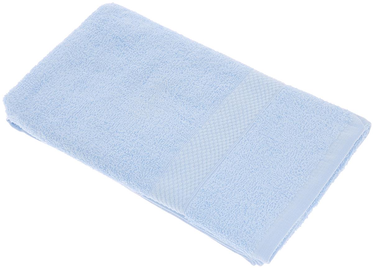 Полотенце махровое TAC Touchsoft, цвет: голубой, 50 х 90 см. 09020902-84005Полотенце TAC Touchsoft выполнено из натуральной махровой ткани (100% хлопок). Изделие отлично впитывает влагу, быстро сохнет, сохраняет яркость цвета и не теряет форму даже после многократных стирок. Полотенце очень практично и неприхотливо в уходе. Оно создаст прекрасное настроение и украсит интерьер в ванной комнате.