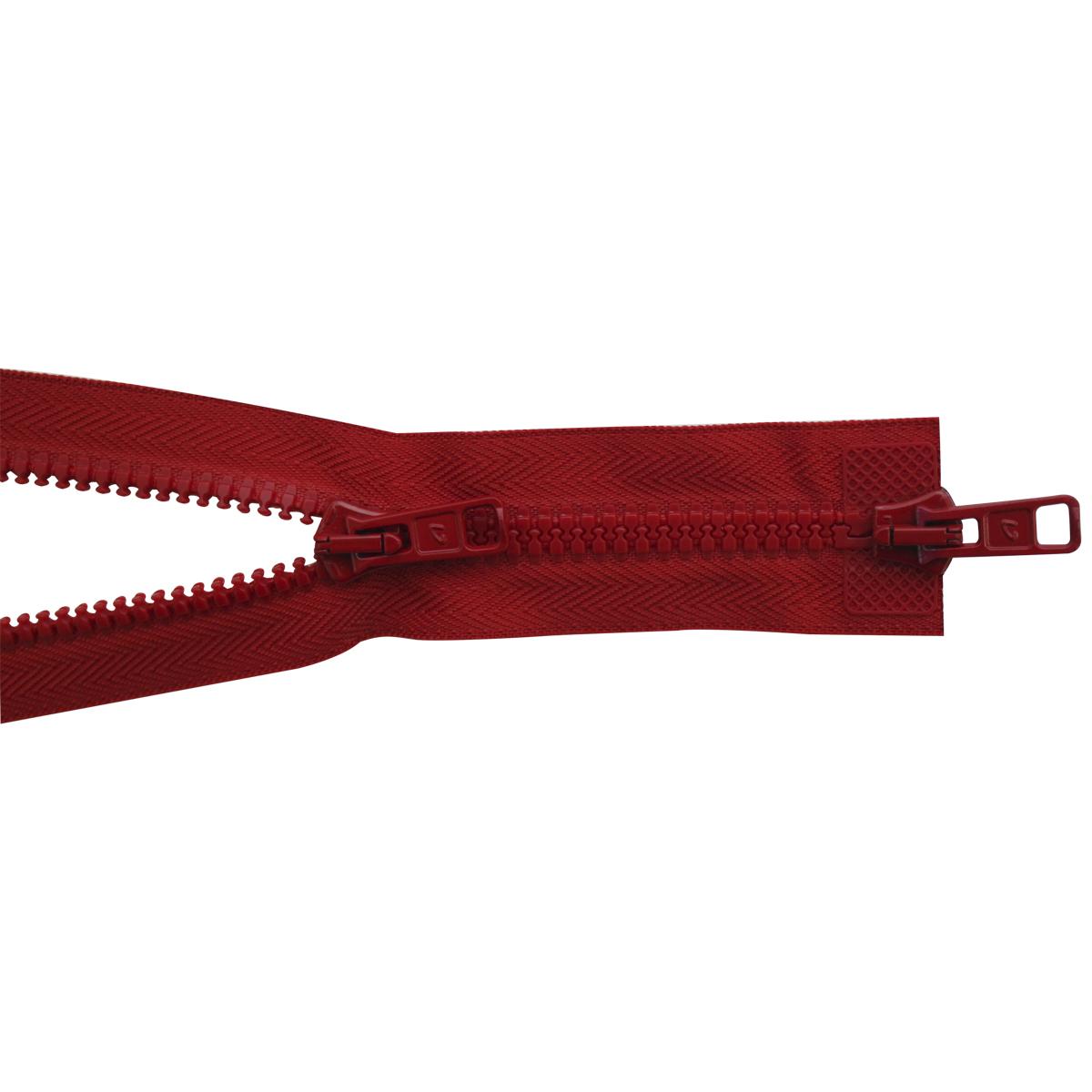 Застежка-молния трактор Arta-F, разъемная (2 замка,Т6) , цвет: красный (008), 75 см19575-008Продукция ARTA-F сертифицирована на Российский, Британский и Латвийский стандарт. Фурнитура ARTA-F изготавливается из европейских материалов, на современном оборудовании, в соответствии с высокими требованиями стандартов. Вся продукция фабрики проходит тесты на качество.Звено застежки-молнии Экстра имеет боковые приливы, которые исключают контакт замка с текстильной лентой, а сокращенный до минимума зазор между замком и приливами звена предохраняет от возможности попадания в замок подкладки, меха, нитей. В то же время эти меры повышают прочность застежки при высоких нагрузках, особенно на изгиб. Применение таких приливов на молниях ARTA-F не только повышает эксплуатационные качества застежки, но и увеличивает прочность крепления звена к ленте, и продлевает срок службы застежек-молний ARTA-F. Такая застежка-молния безопасна, легка в использовании и не повредит одежду.