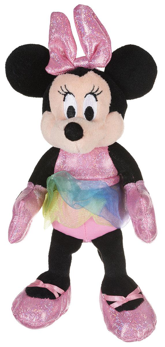 TY Мягкая игрушка Sparkle Minnie 20 см41001Мягкая игрушка TY Sparkle Minnie - это прекрасный подарок для вашей малышки. Игрушка станет верным другом для каждого ребёнка, подарит множество приятных мгновений и непременно поднимет настроение. Изготовлена в виде подружки Микки Мауса, Минни в розовом платье с блестками. На голове Минни розовый бант, на ногах розовые ботиночки. При нажатии на грудь игрушки раздается смех Минни. Эта милая и забавная игрушка обязательно понравится вашему ребёнку.