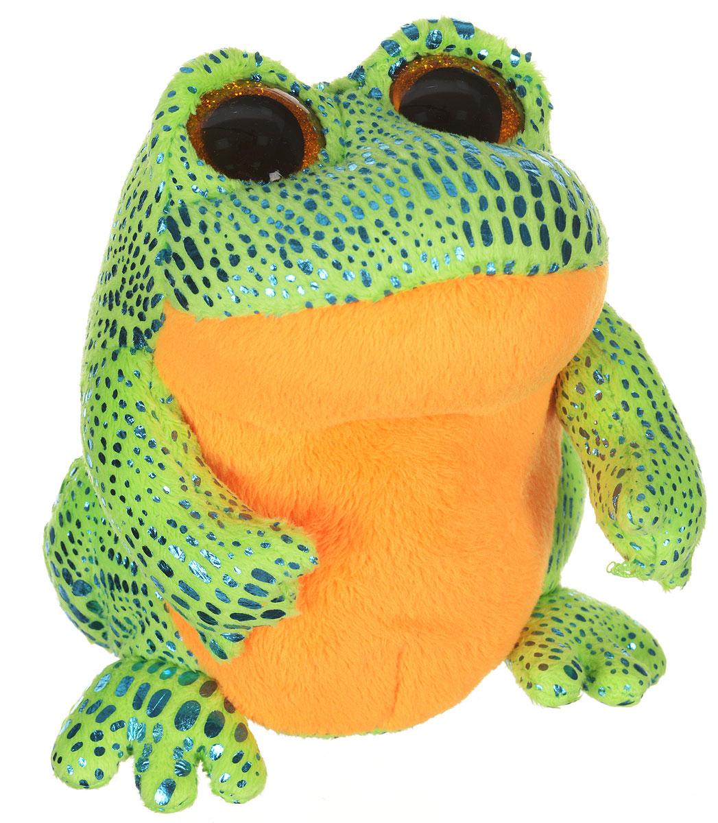 TY Мягкая игрушка Лягушка Speckles 15 см36123Мягкая игрушка TY Лягушка Speckles - это прекрасный подарок для вашего малыша. Модель отличается оригинальным дизайном и качественным исполнением. Игрушка в виде очаровательного лягушонка станет верным другом для каждого ребенка, подарит множество приятных мгновений и непременно поднимет настроение. Специальные гранулы, используемые при набивке, способствуют развитию мелкой моторики рук.
