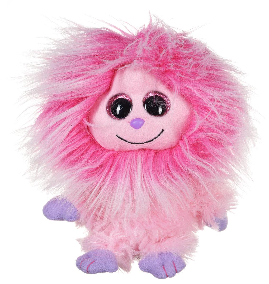 TY Мягкая игрушка Домовенок Kink 15 см37133пцМягкая игрушка TY Домовенок Kink вызовет улыбку у каждого, кто ее увидит. Игрушка изготовлена из безопасных, приятных на ощупь материалов в виде милого мохнатого домовенка. Яркий монстрик с большими розовыми глазами, еще никого не оставлял равнодушным! У игрушки мягкая розовая шерстка и фиолетовые лапки. Пластиковые гранулы, используемые при набивке игрушки, способствуют развитию мелкой моторики рук ребенка. Симпатичная игрушка будет радовать вашего ребенка, а также способствовать полноценному и гармоничному развитию его личности.