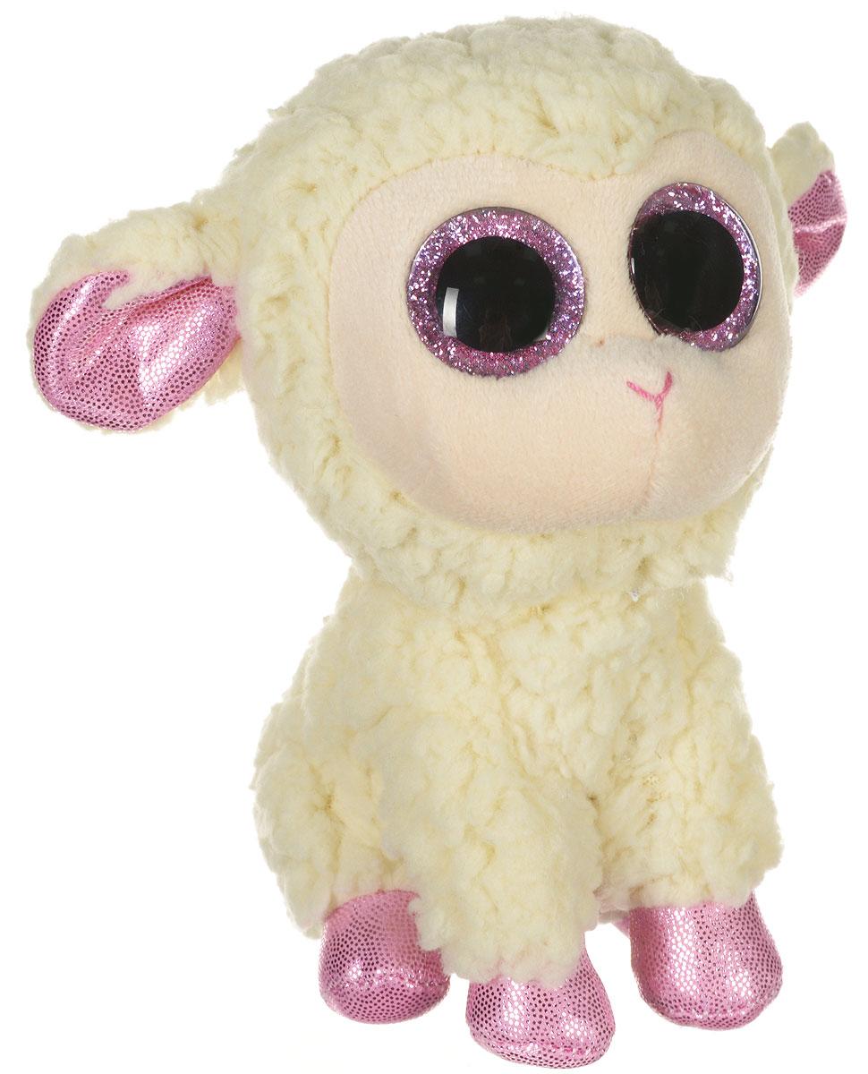 TY Мягкая игрушка Овечка Daria 15 см36028Мягкая игрушка TY Овечка Daria вызовет улыбку у каждого, кто ее увидит. Игрушка изготовлена из безопасных, приятных на ощупь материалов в виде мягкой белой овечки. У игрушки розовые копытца и большие блестящие глазки. Пластиковые гранулы, используемые при набивке игрушки, способствуют развитию мелкой моторики рук ребенка. Симпатичная игрушка будет радовать вашего ребенка, а также способствовать полноценному и гармоничному развитию его личности. Великолепное качество исполнения делают эту игрушку чудесным подарком к любому празднику как для ребенка, так и взрослого человека!