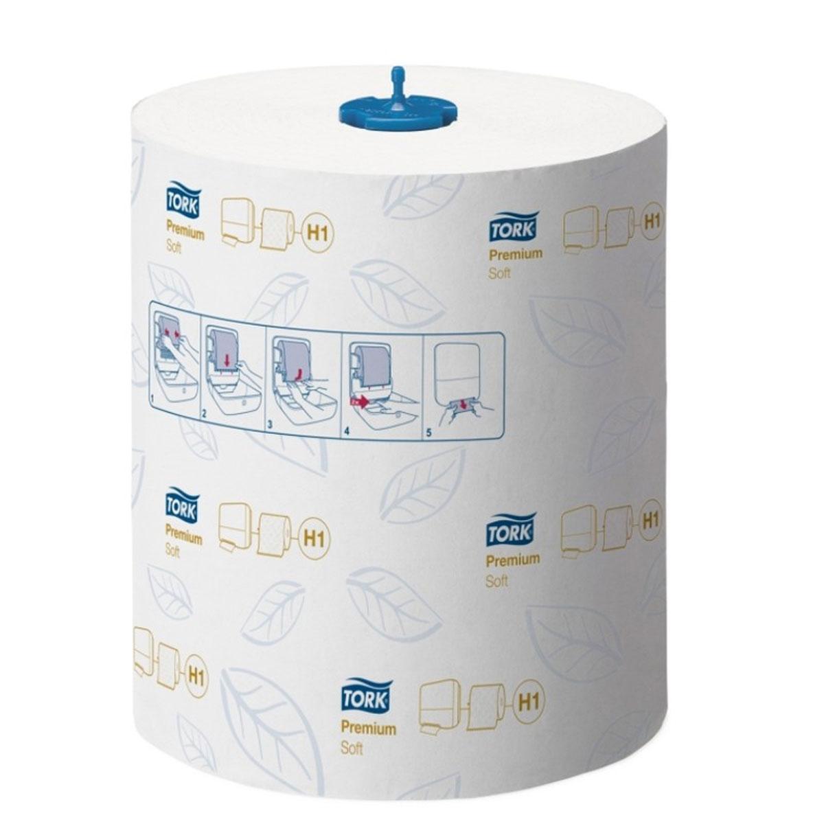 Tork Matic полотенца в рулонах мягкие 2-сл 100м, коробка 6 шт290016Целлюлоза